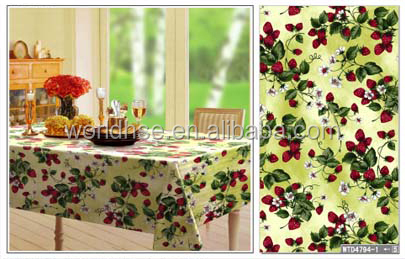 OEM Custom Printed Designer Table cloth