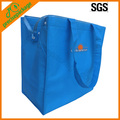 blue non woven cooler bag for lunch and dinner