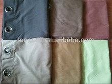 2013 new style high-end sumptuous suede curtain