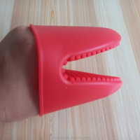 Factory wholesale good quality non-slip silicone oven mitt