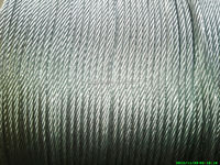 6x19 fc galvanized steel wire rope
