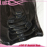 China High Quality Cheap Human Hair Extension Seamless Hair Weft