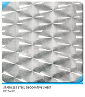 304 decorative stainless steel etching sheet/coil for elevator