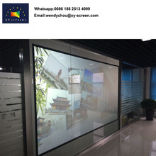 3D Rear projection screen fabric /holographic projection film
