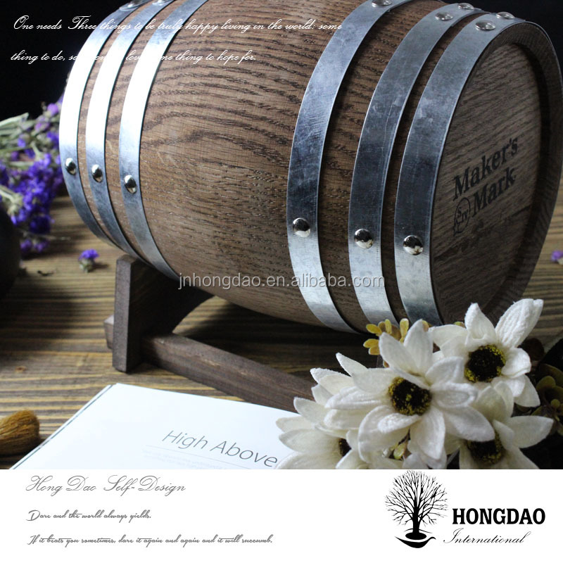 HONGDAO High quality wooden whiskey wine barrel for sale