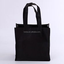 Customized printing recycled promotional shopping tote non woven bag