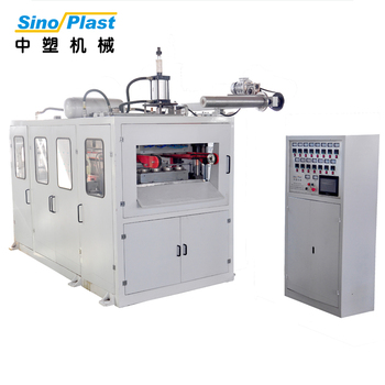 SINOPLAST Cheap Price Stable PP PE Plastic Tea Cup Making Machine Thermoforming Machinery
