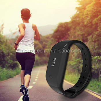 silicone wristband pedometer smart band fitbit health wristband
