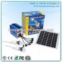Portable Solar kits 6w home solar system