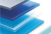 polycarbonate sun sheet of building material