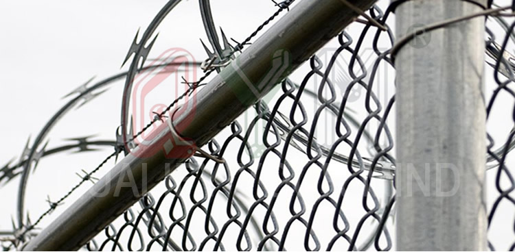 Security Concertina Razor Wire Anti-Climb Razor Wire Prison Fence