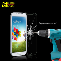 Supply for samsung galaxy s4 tempered glass screen protector,for samsung s4 front glass screen protector
