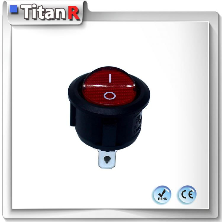 Titanr 16a 15a 125vac rocker switch t125