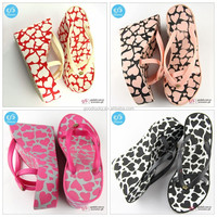 China wholesale new style eva fashion beach sandals flip flops for ladies
