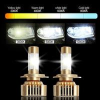 Best Price 2017 new led head lamp and h8 h9 h11 h4 h7 led headlight bulb 9005 9006 auto car led headlight
