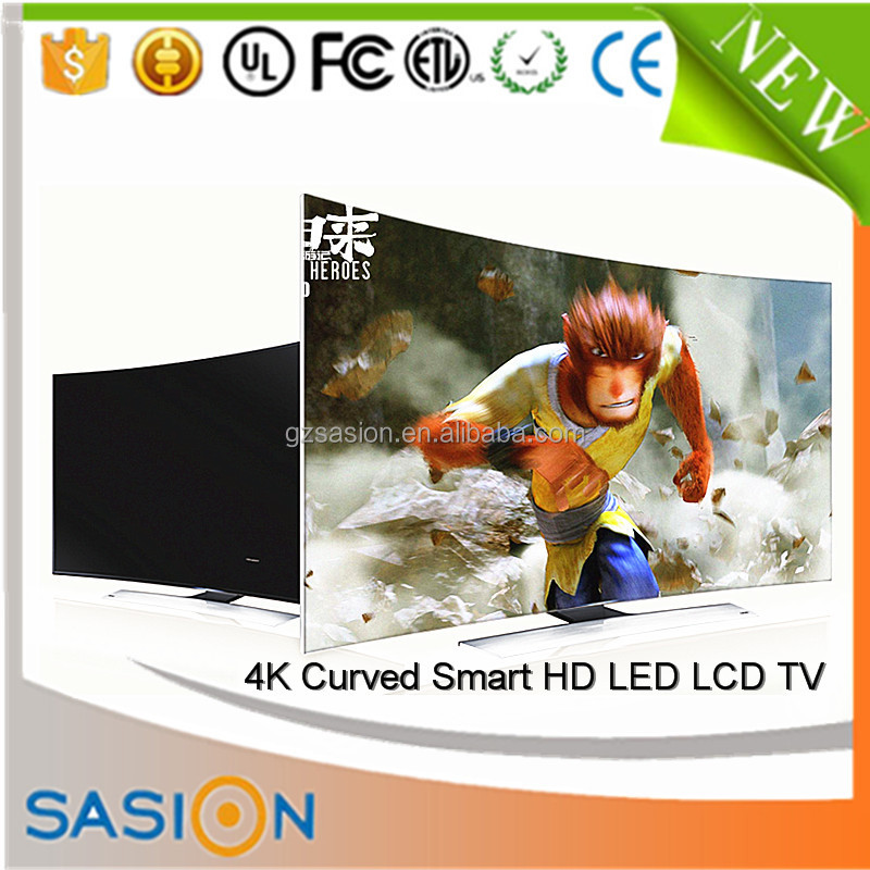 4K curved smart replacement lcd screens main board china lcd tv price in india