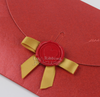 Paper products cardboard brandy tag wax seal packaging stamp