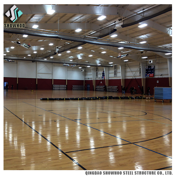 Weld H Beam Steel Structure Prefab Gymnasium Design