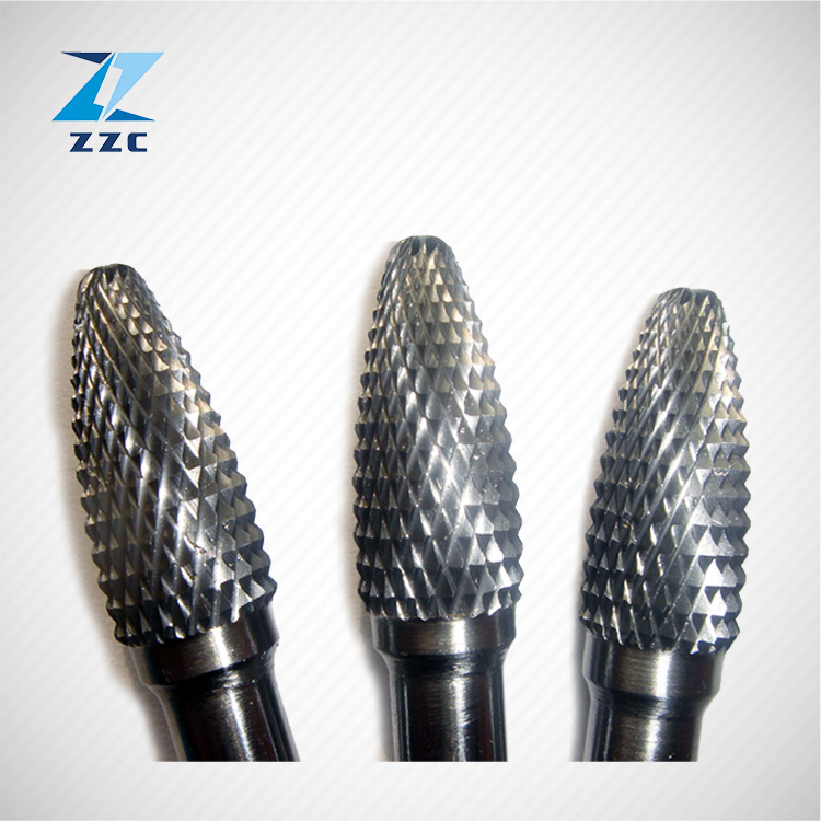"1/8"" Tungsten Carbide Burrs Rotary <strong>Drill</strong> Bits Tools Cutter Files Set Shank"