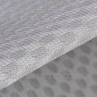 D064 100% polyester pattern mesh fabric for shoes textile