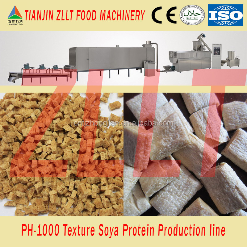 Turnkey plants for texture soya protein production line