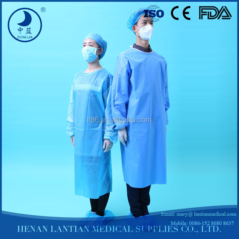 sterile disposable surgical gown,sms gown