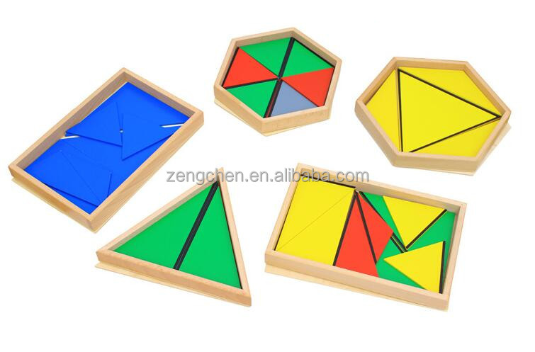 Montessori Teaching Geometric Shape Puzzle Toy