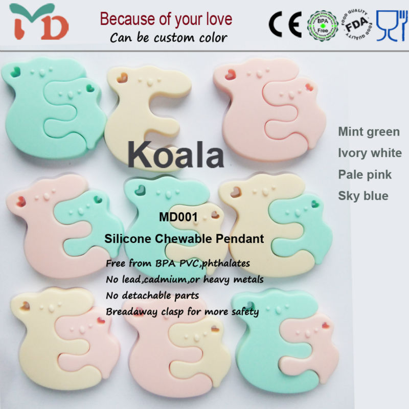 Wholesale BPA Free Silicone Teething Toys for Baby