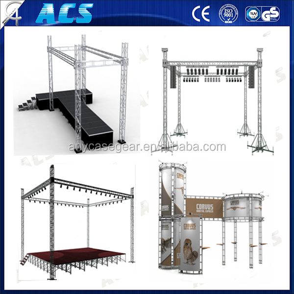 Small Stage Lighting Truss System, Aluminum Truss
