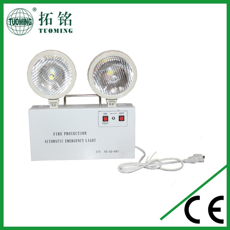 6V lead battery exit light led emergency light for channel
