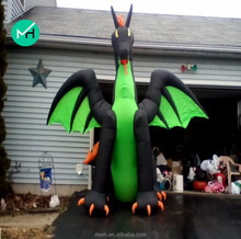 HIGH QUALITY cheap giant inflatable purple dragon for sale