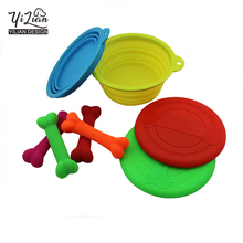 2017 Wholesale cheap price safe non-toxic rubber silicone pet chew toys, dog toy bone