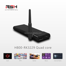 HDMI TV Stick Android smart media player RK3229 tv dongle miracast airplay DLNA wifi display IPTV Android 5.1 TV BOX