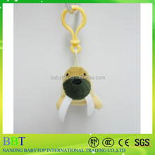 north pole series sea elephant keychain, sea animal keychain for decoration