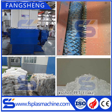 1200 single shaft hdpe bottle pipe plastic shredder machine