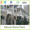 Premium acrylic emulsion water-proof granite colorful exterior wall paint