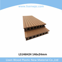 Engineered Flooring,WPC Type and Wood-Plastic Composite Flooring Technics wpc hollow decking board