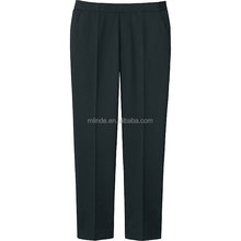OEM Wholesale Plain Long Pants Women's Plus-Size Relaxed-Fit All Day Pant Uniform Design Pants for Office Women Ladies