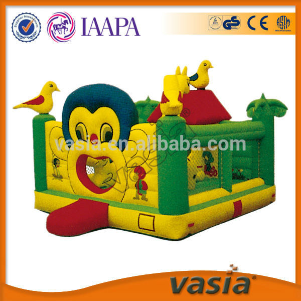 Kids cheap outdoor inflatable bouncer, inflatable castle for sale