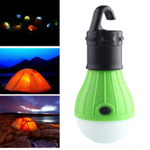 Outdoor Accessories Hanging LED ABS Bulb Light Fishing Lantern Lamp 3 Mode Camping Tent Light for home