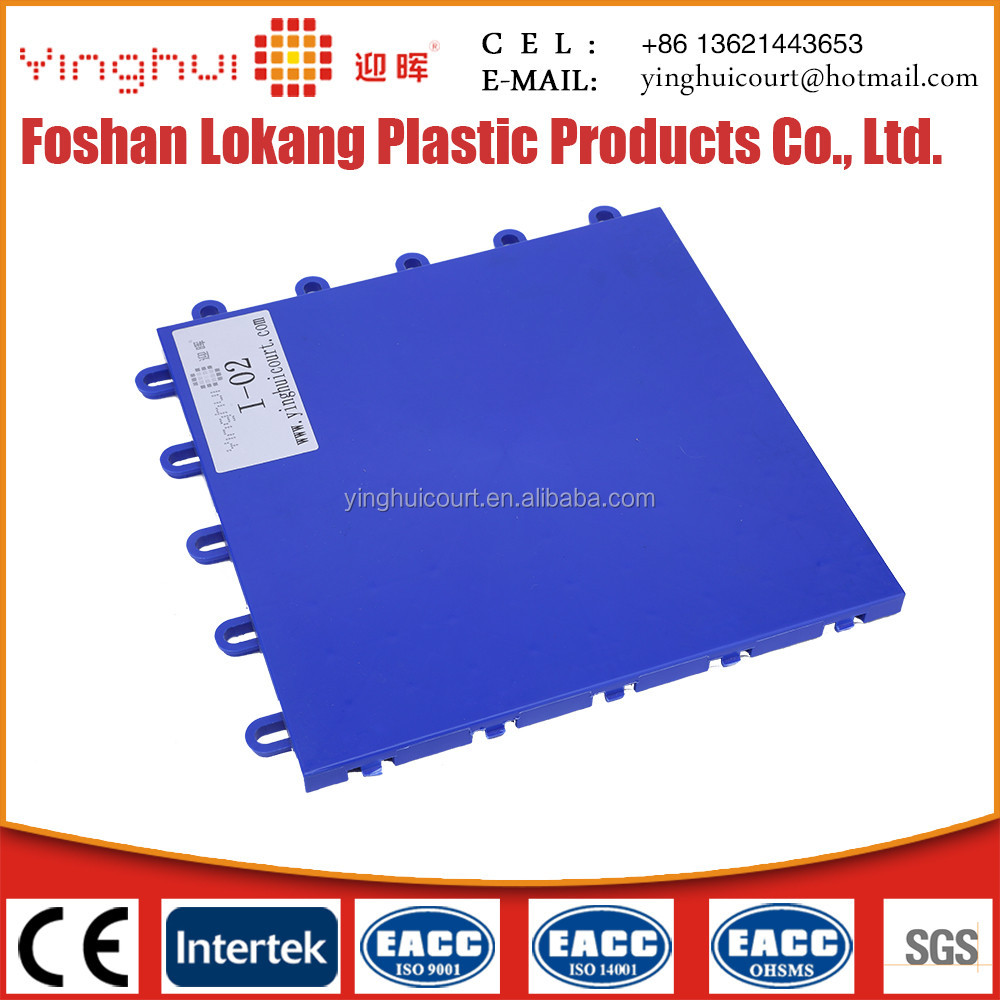 I-02 Anti-slipping Outdoor and Indoor Basketball Court Flooring