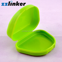 Wholesale Colorful Plastic Denture Box/ Dental Material Retainer Case with Low Price