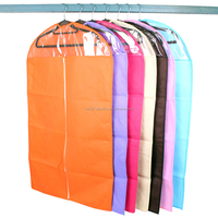 Garment storage bag non woven suit cover & zippered garment bags wholesale