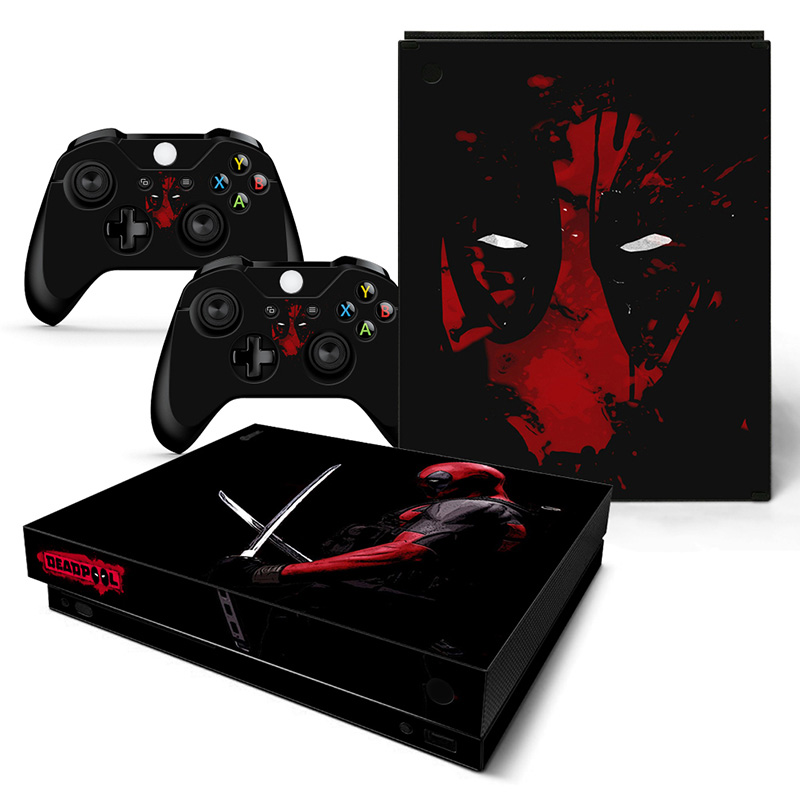 Faceplates, Decals & Stickers Video Game Accessories Objective Batman And Joker Xbox One S 1 Sticker Console Decal Xbox One Controller Vinyl