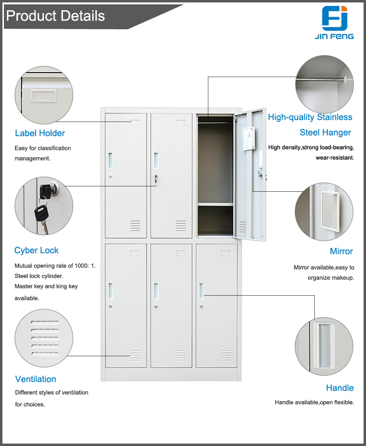 Steel Locker For Office Staff And School Students