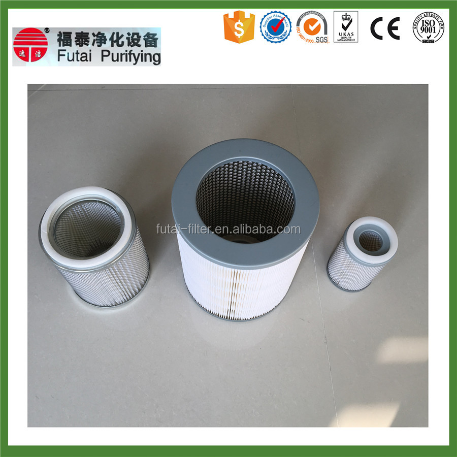 stainless steel gas turbine cartridge filter