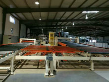 gypsum board production equipments/decorate gypsum board production line