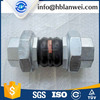 Pipe Fitting Bellows Flexible Rubber Joint Flange and Union Type