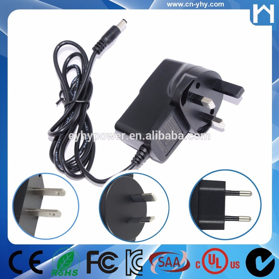 12V 1A power adapter 12W DOE VI energy adapter for POS terminal