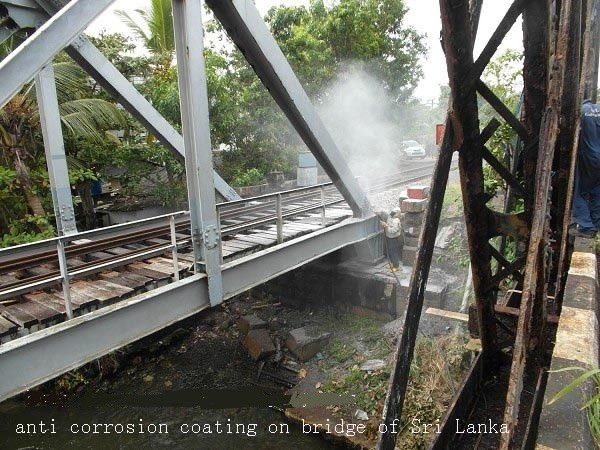 aiuminum coating for bridge corrosion resistant